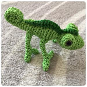Gecko gehäkelt