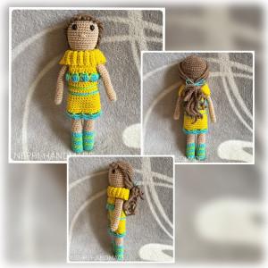 Puppe gehäkelt
