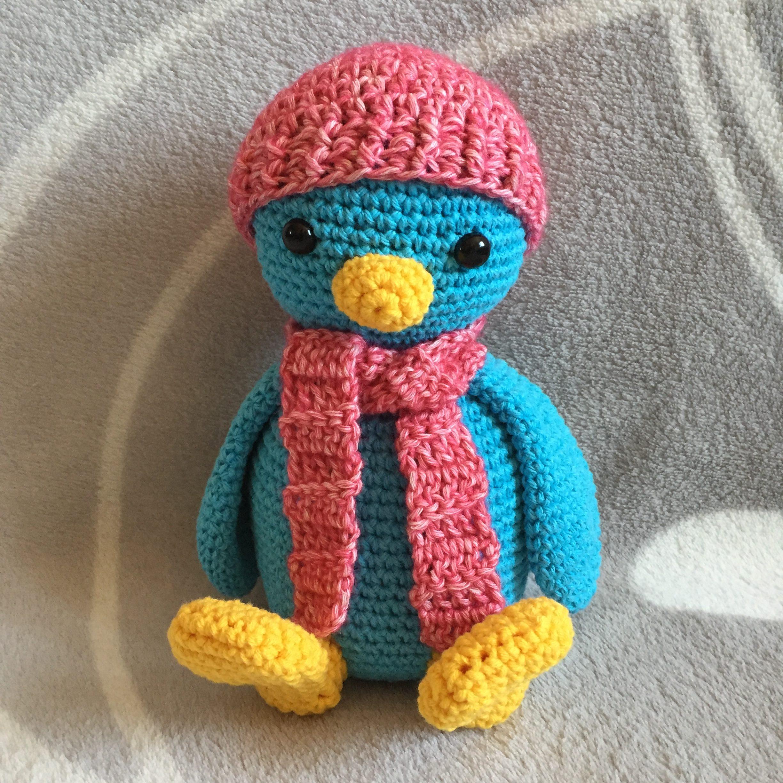 Häkelanleitung Pinguin Nephi Handmade