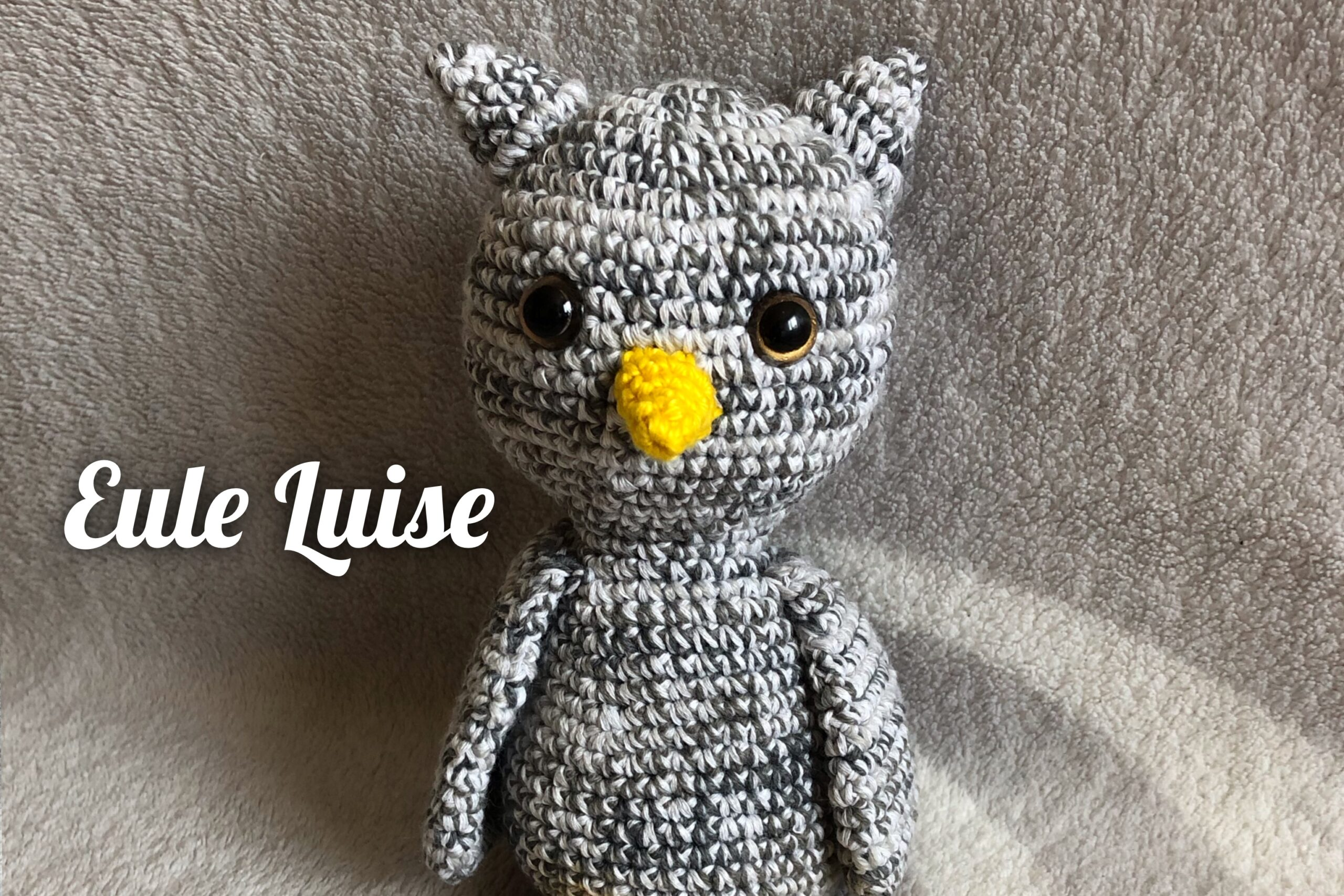 Häkelanleitung kleine Eule Luise