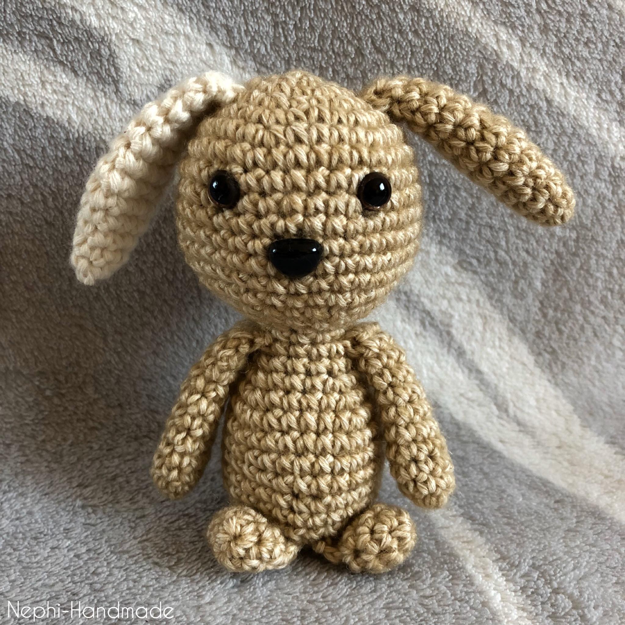 Mini Hase Amigurumi Häkelanleitung von Little Bear Crochets   2048x2048