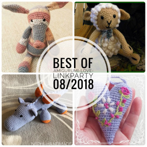 Amigurumi-Love-Linkparty Best off 08/2018