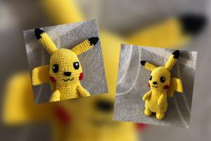[Update ToDo-Liste] Pikachu gehäkelt