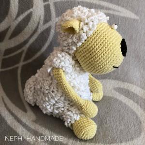 Schaf gehäkelt
