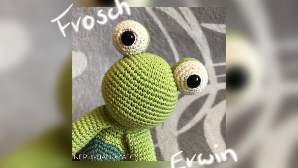 Frosch Erwin Häkelanleitung