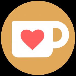 """unterstütze mich mit einem """"Kaffee"""""""